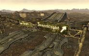 FNV Novac Searchlight sign