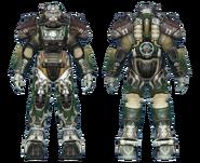 FO4CC T-60 power armor gunner captain