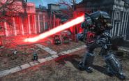 FO4 Liberty Prime laser