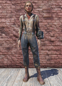 FO76 Brown Fisherman's Overalls