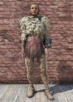 FO76 Imposter Sheepsquatch Outfit