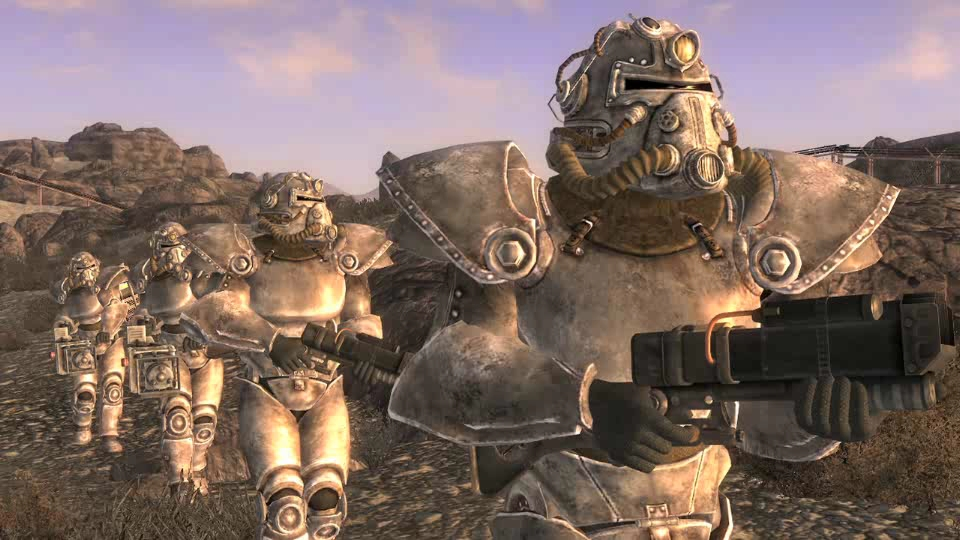 fallout 4 brotherhood of steel power armor