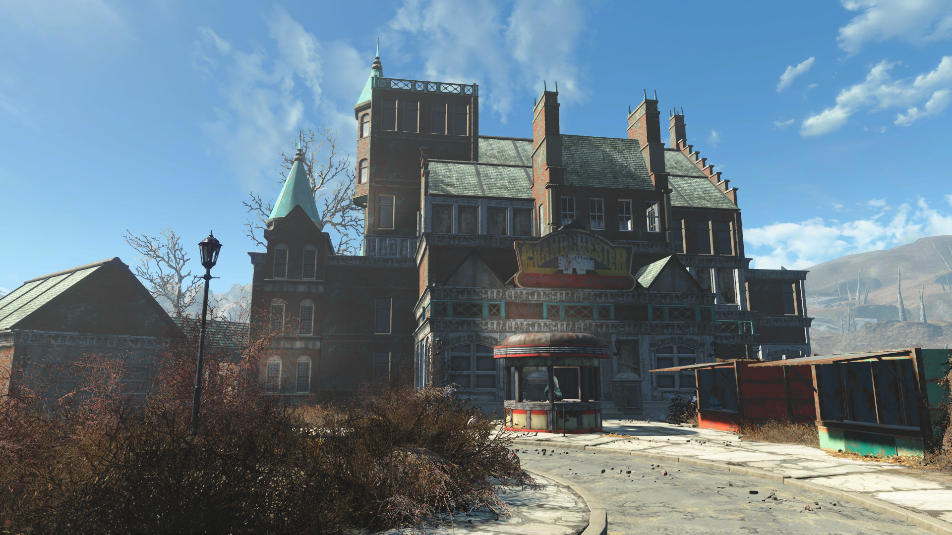 Image grandchester mystery fallout wiki for Fallout 4 decorations