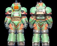 CC-00 power armor Hot Rod shark paint
