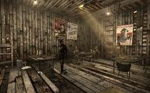 Camp Forlorn Hope mess hall main