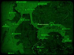 FO4 Баржа на разгрузке (карта мира)