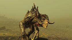 FO4 Mythic Deathclaw
