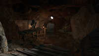 FO4 Rocky Cave Entrance