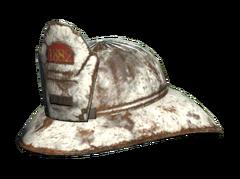 FO76 Responder fireman helmet