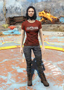 Nuka-Cherry t-shirt female