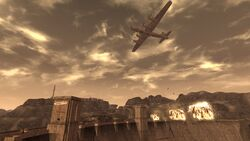FNV Hoover Dam Booomers Legion bombing
