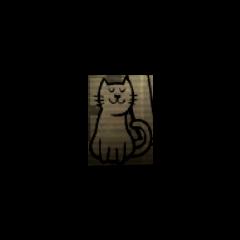 A cat in the <a class=