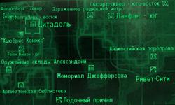 FO3 Citadel wmap