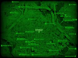 FO4 Кембриджская база рейдеров (карта мира)
