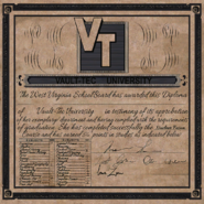 FO76 Overseer's diploma