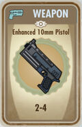 FoS Enhanced 10mm Pistol Card