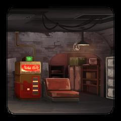 Житлова кімната «Підземка»