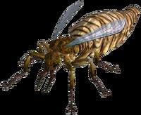 Giant ant queen
