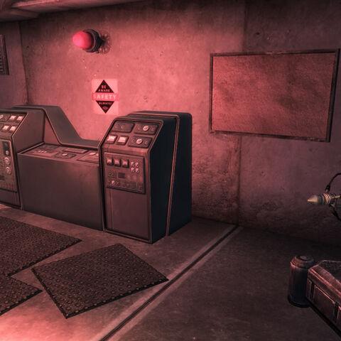 Бункер секьюритронов, консоль управління секьюритронами