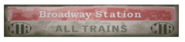 FO4 Broadway station signage