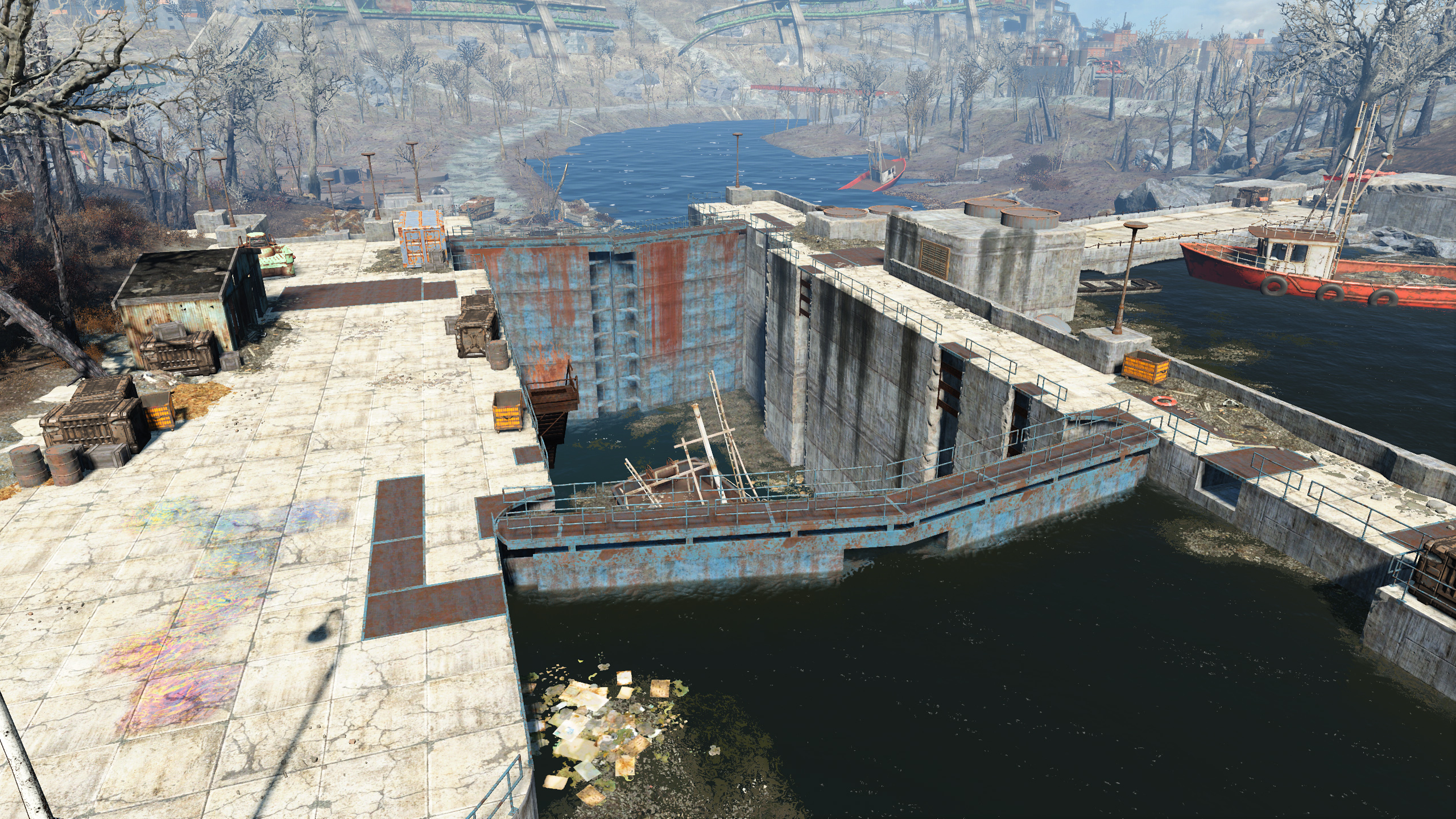FO4 Charles River Lock and Dam
