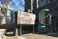 FO4 Freedom Trail sign
