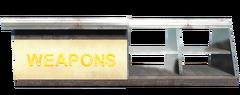 FO4 Weapons Emporium Counter