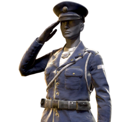 FO76 Atomic Shop - Military officer uniform