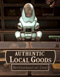 FO76 Brotherhood vendor