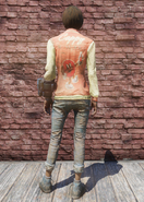 FO76 Cappy jacket and jeans back