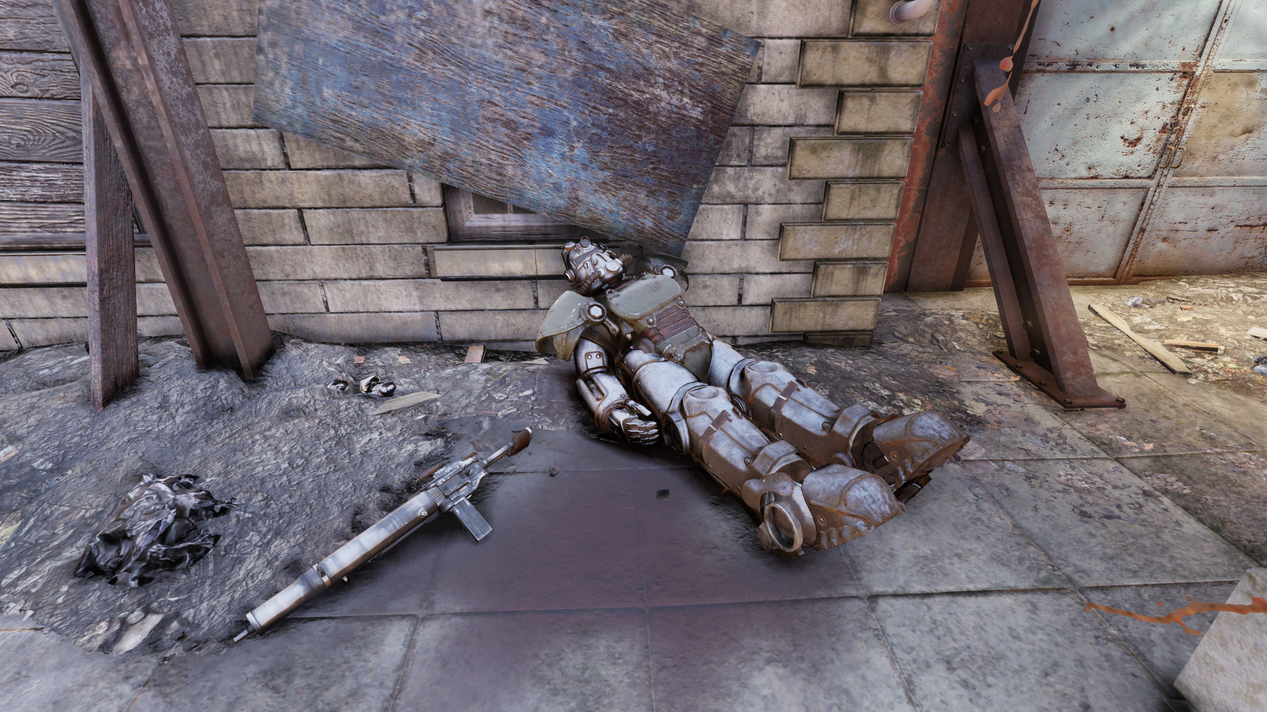 FO76 Fort Defiance (Brotherhood Corpse 1)