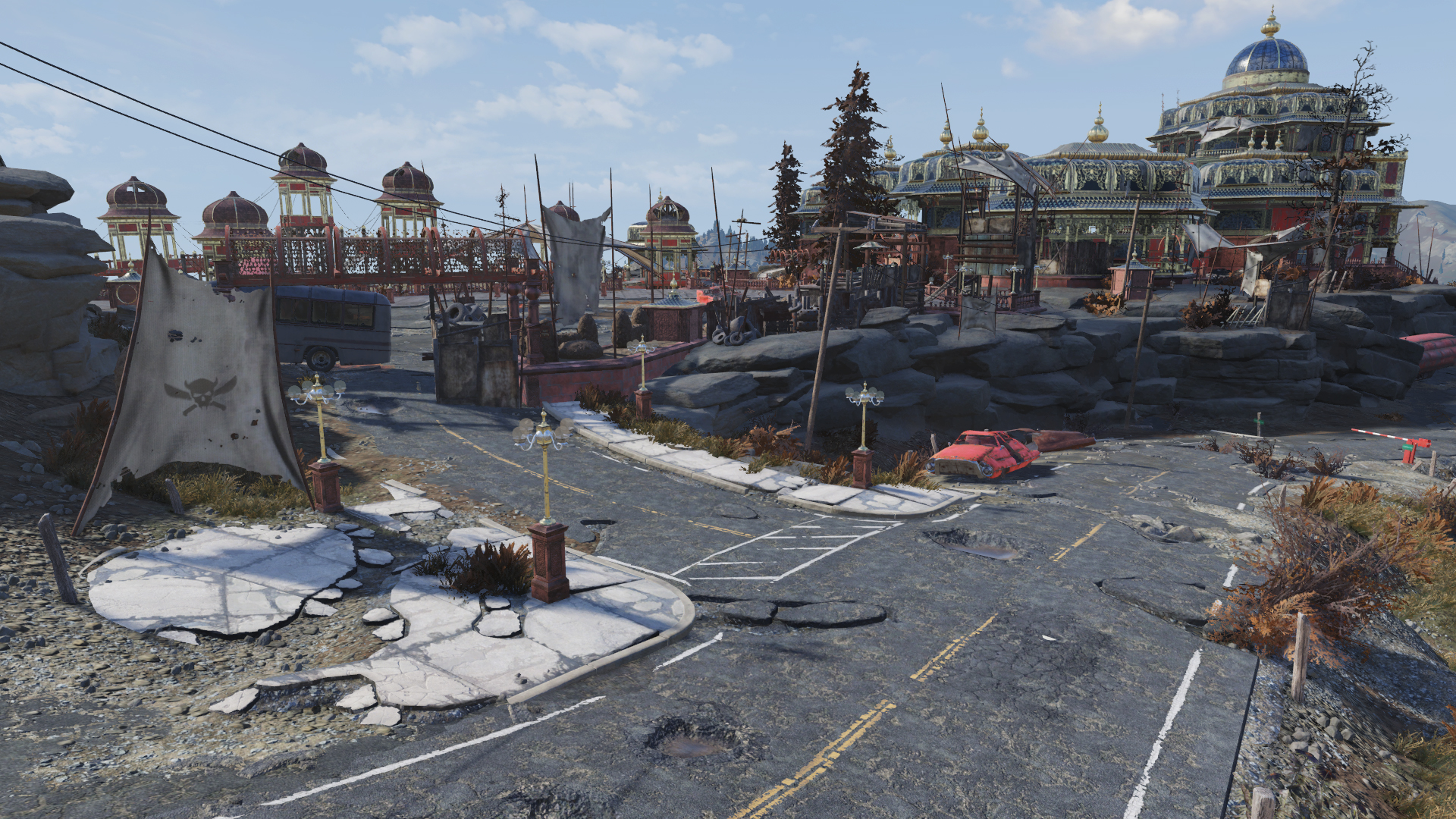 FO76 Palace of the Winding Path (entrance)