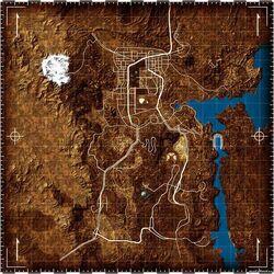 Fallout New Vegas Map