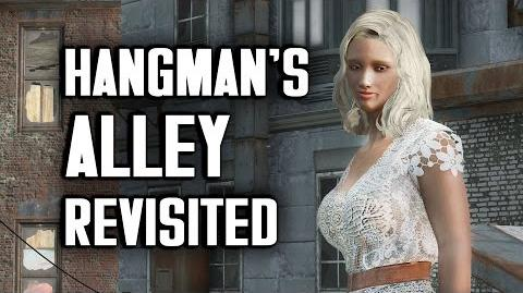 "Hangman's Alley ""Lived-in"" Settlement Build - Fallout 4 Settlements"