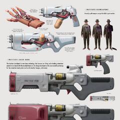 Institute laser weapons