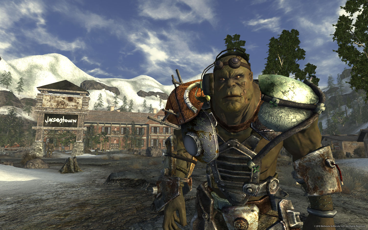 Forumwhy Are The Super Mutants In Falloutnew Vegas Look Like The