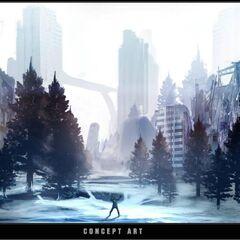 """概念图:""""雪城"""""""