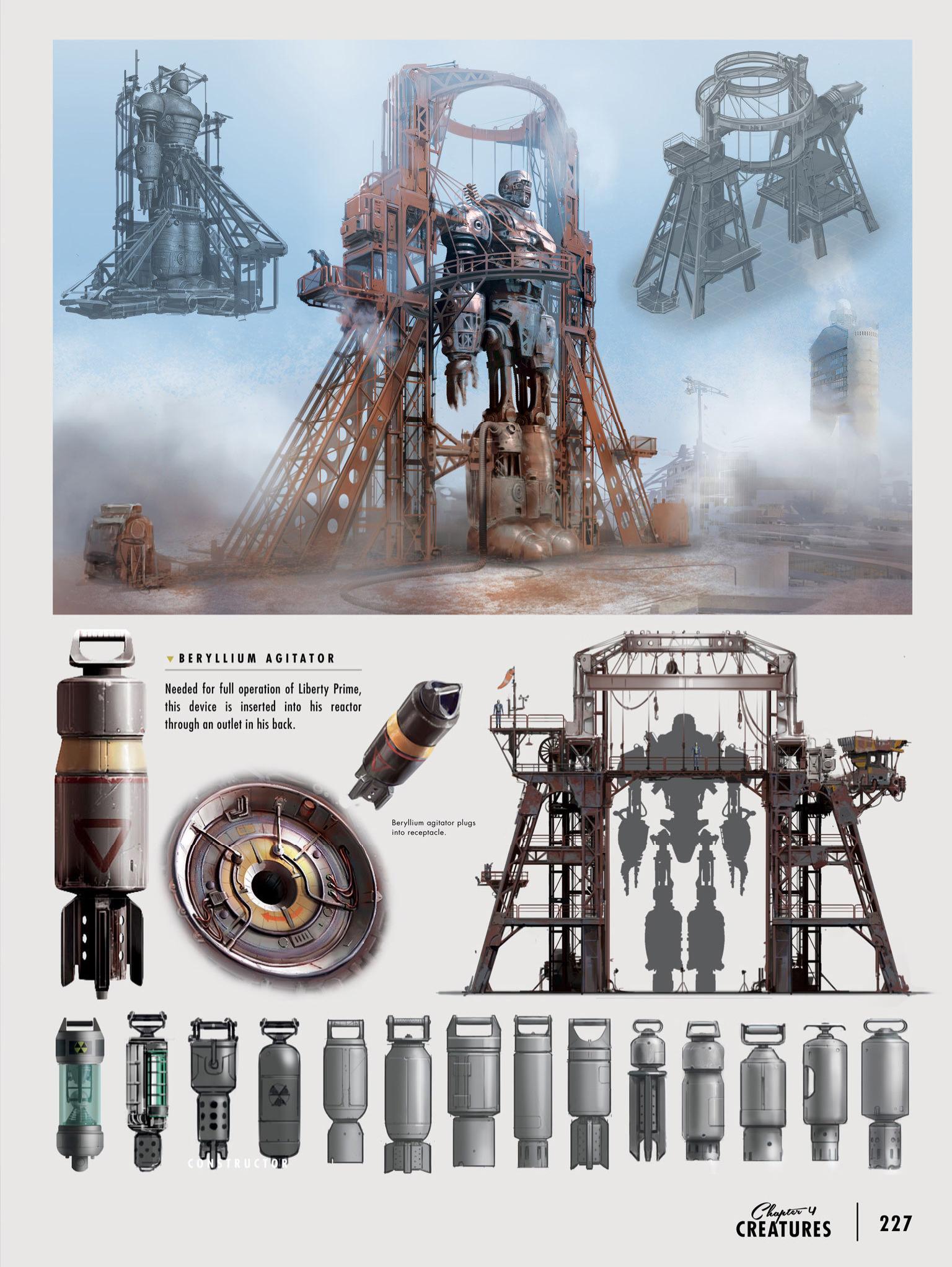 Beryllium agitator concept art