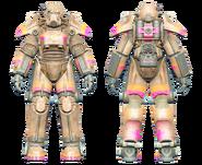 FO4CC T-45 power armor Slocum's Joe tan