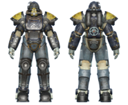 FO4CC T-51 power armor minutemen armored cavalry