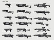 FO4 Лазерное оружие