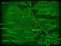 FO4 Монсиньор-Плаза (карта мира)