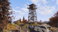 FO76 Camp Adams lookout