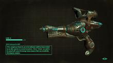 Upgraded alien blaster