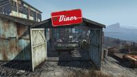 AtomCats Garage Entrance Diner