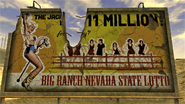 Big Ranch Lotto billboard