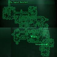 Deathclaw Sanctuary loc map