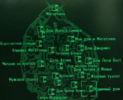 FO3 Common house locmap