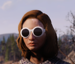 FO76 Fashionable glasses
