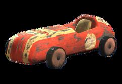Souvenir toy car